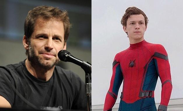 Zack Snyder Spider-Man Tom Holland