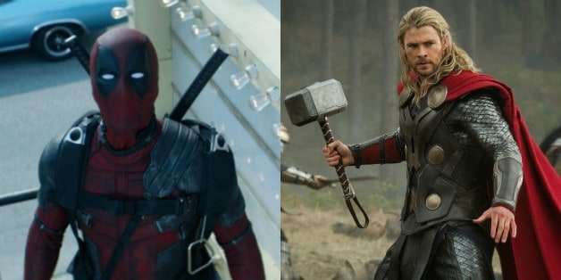 Deadpool Thor Chris Hemsworth Ryan Reynolds Avengers Marvel Studios Fox Disney