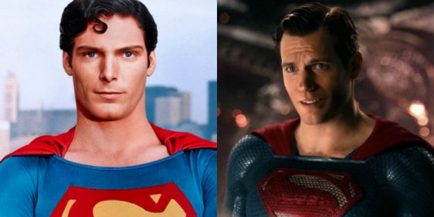Christopher Reeve Superman Dons Henry Cavill Justice League Suit Joss Whedon