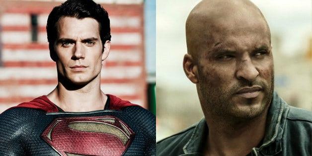 Henry Cavill Ricky Whittle Green Lantern Superman