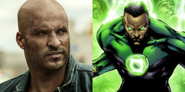 Ricky Whittle Green Lantern American Gods