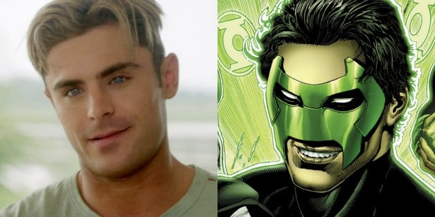 Zac Efron Kyle Rayner Green Lantern