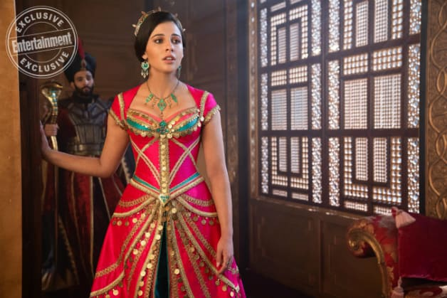 Aladdin Images Show Vibrant New Look At Naomi Scott As Jasmine