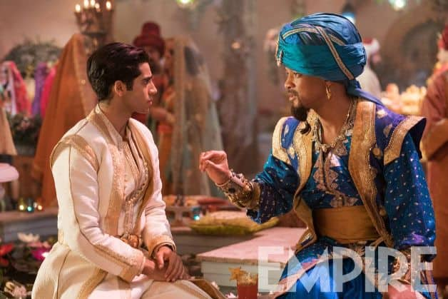 Aladdin Will Smith Genie Empire