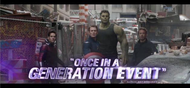 Avengers Endgame Captain America Ant-Man Iron Man Hulk
