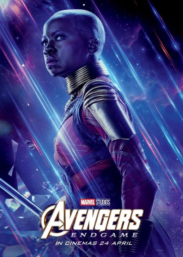 Avengers Endgame Danai Gurira Okoye