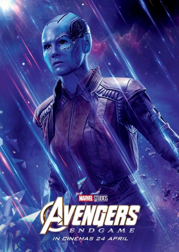 Avengers Endgame Karen Gillan Nebula