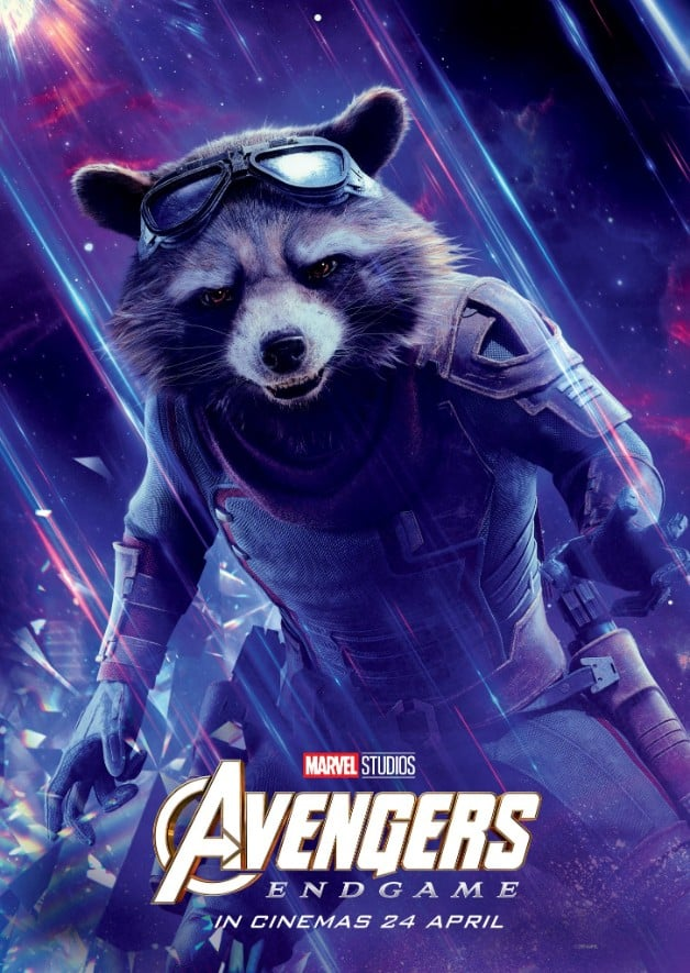 Avengers Endgame Rocket Raccoon