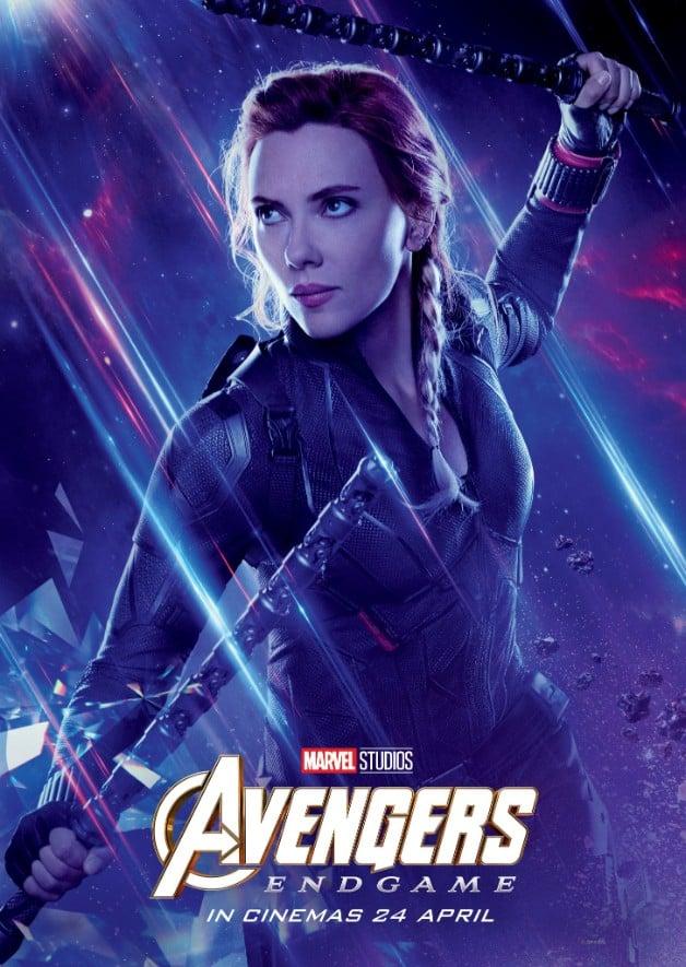 Avengers Endgame Scarlett Johansson Black Widow