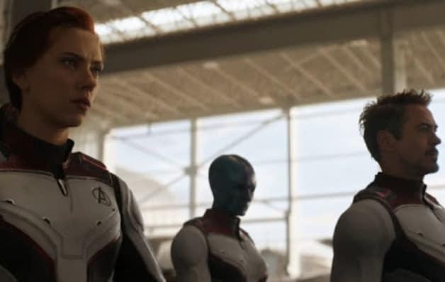 Avengers Endgame Team Suits Kevin Feige Marvel