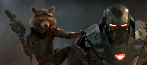 Avengers Endgame War Machine Don Cheadle