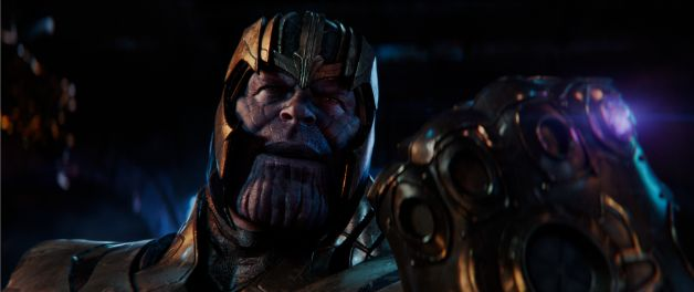 Avengers Infinity War Joker Style Thanos