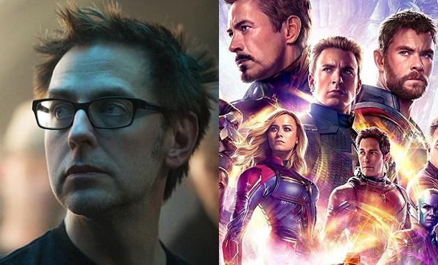 Avengers Endgame James Gunn Guardians Of The Galaxy