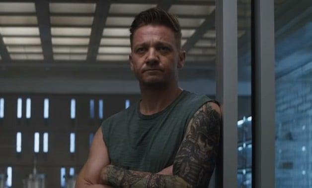 Avengers Endgame Jeremy Renner Ronin Hawkeye