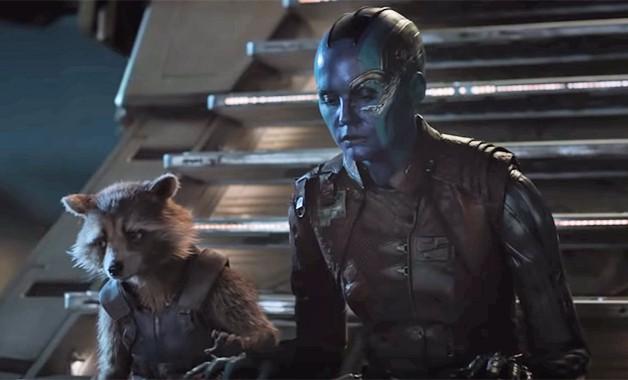 Avengers Endgame Karen Gillan Nebula James Gunn Guardians