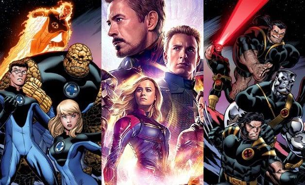 Avengers Endgame X-Men Fantastic Four Marvel Studios