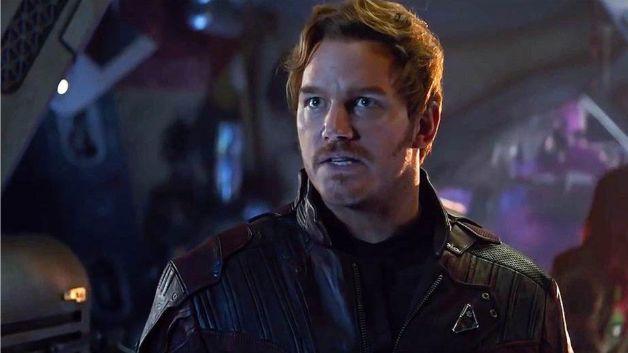 Chris Pratt Avengers Infinity War Endgame Guardians of the Galaxy Star-Lord MCU