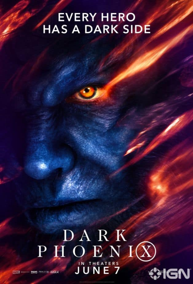 Dark Phoenix Character Poster Beast Nicholas Hoult