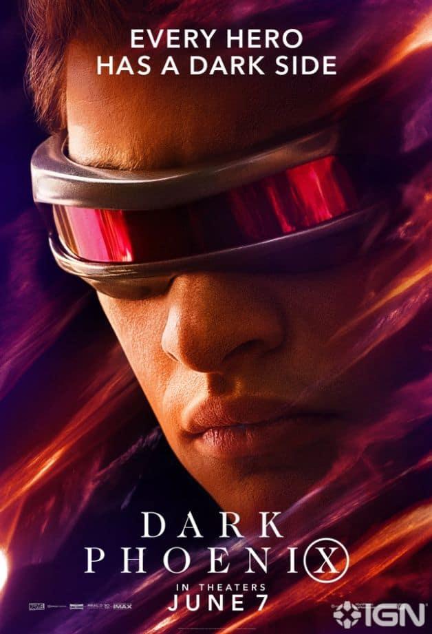 Dark Phoenix Character Poster Cyclops Tye Sheridan