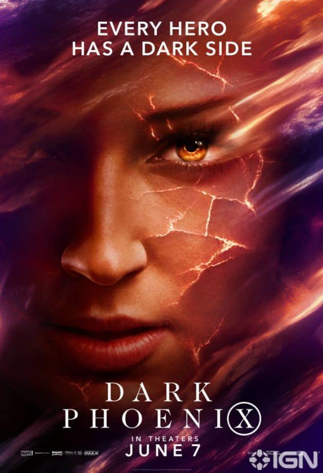 Dark Phoenix Character Poster Jean Grey Sophie Turner