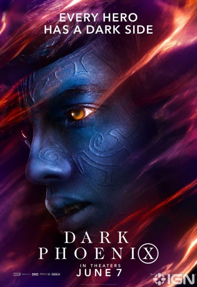 Dark Phoenix Character Poster Nightcrawler Kodi Smit-McPhee