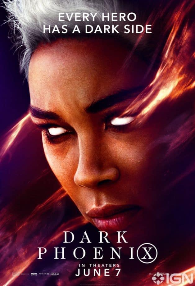 Dark Phoenix Character Poster Storm Alexandra Shipp
