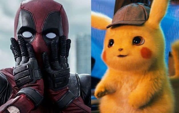 Detective Pikachu Pokemon Ryan Reynolds Deadpool X-Men