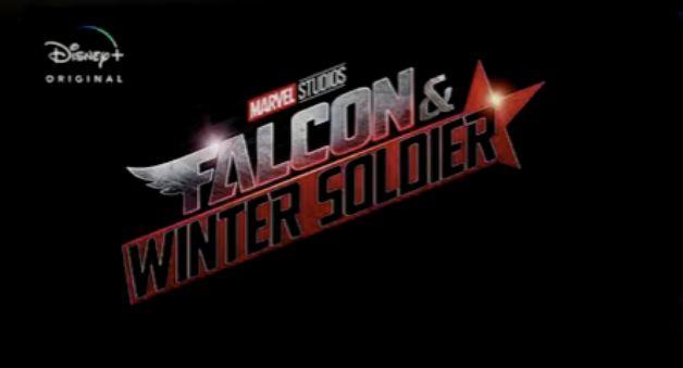 Falcon Winter Soldier Disney Plus Logo
