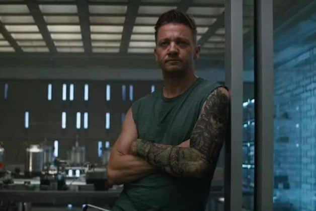 Jeremy Renner Hawkeye Ronin Avengers Infinty War Endgame