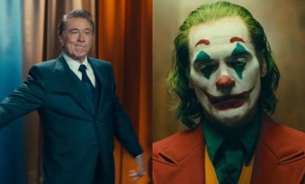Joker Joaquin Phoenix Robert De Niro Martin Scorsese