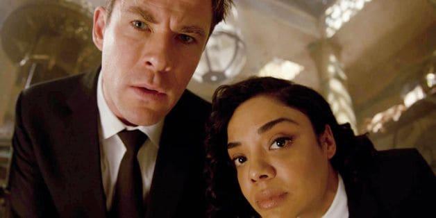 Men In Black International Trailer Tessa Thompson Chris Hemsworth Game Of Thrones