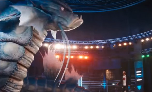 New Pokemon Detective Pikachu Trailer Pits Charizard Against Gyarados