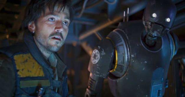 Disney Plus Rogue One Star Wars Alan Tudyk K-2SO Cassian Andor Diego Luna Disney