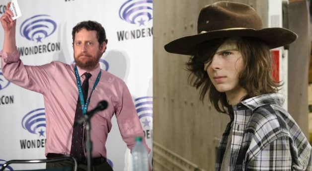 Scott Gimple The Walking Dead Chandler Riggs Carl Grimes