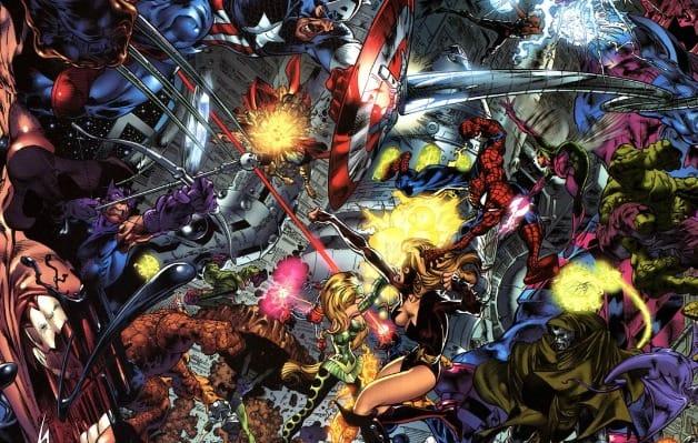 Secret Wars Avengers Endgame