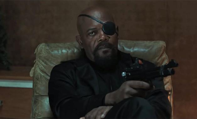 Spider-Man Far From Home Samuel L. Jackson Nick Fury Tom Holland