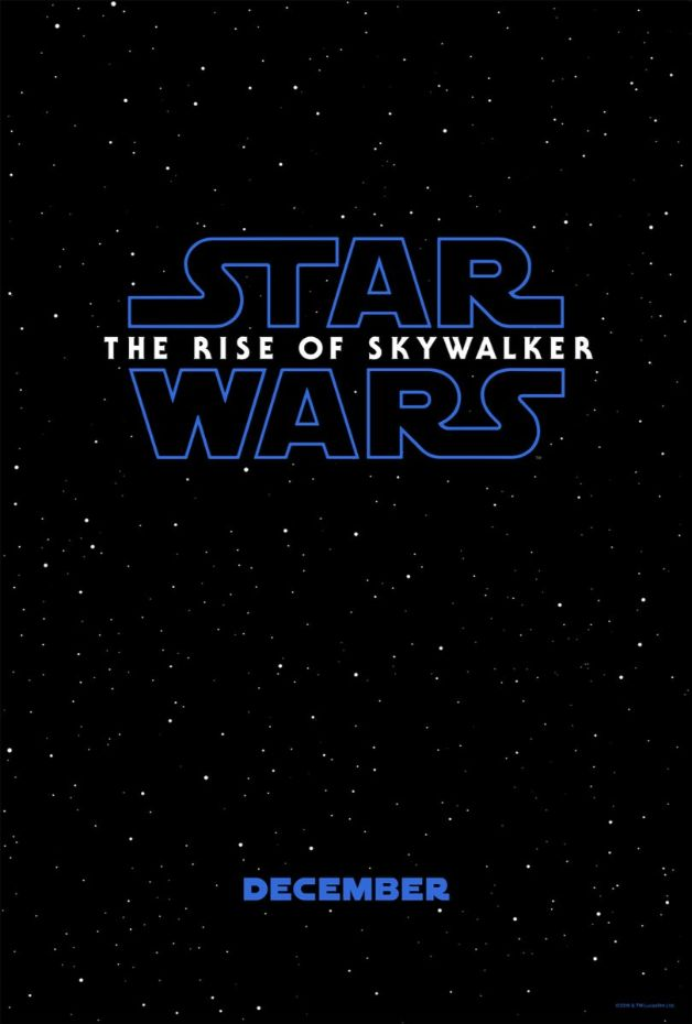 Star Wars The Rise of Skywalker Episode IX Poster