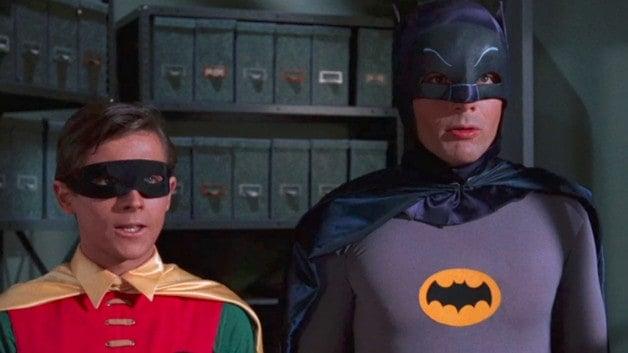 Batman Adam West Burt Ward Robin