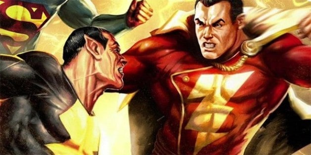 Black Adam Shazam! Zachary Levi Dwayne Johnson