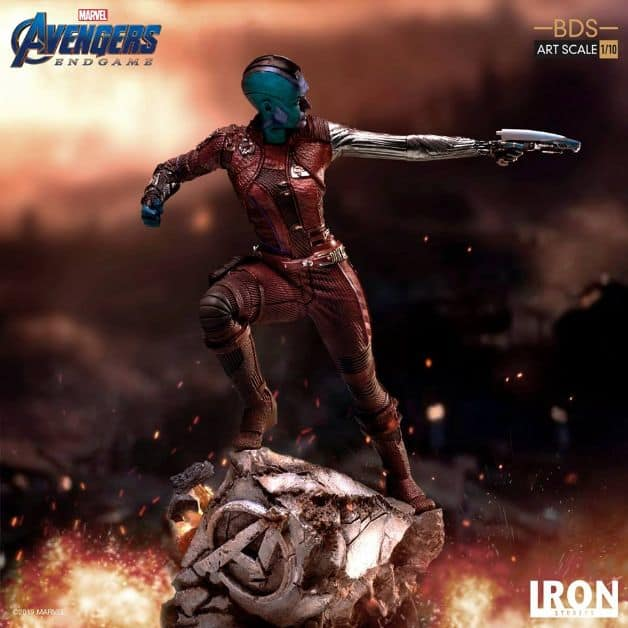 Avengers Endgame Nebula Thanos
