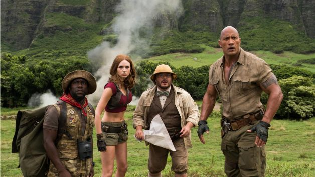 The trailer to the 'Jumanji' sequel looks like a lot of fun