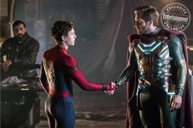 Spider-Man Far From Home Mysterio Jake Gyllenhaal Tom Holland
