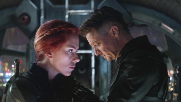 Avengers Endgame Black Widow Hawkeye Scarlett Johannson Jeremy Renner