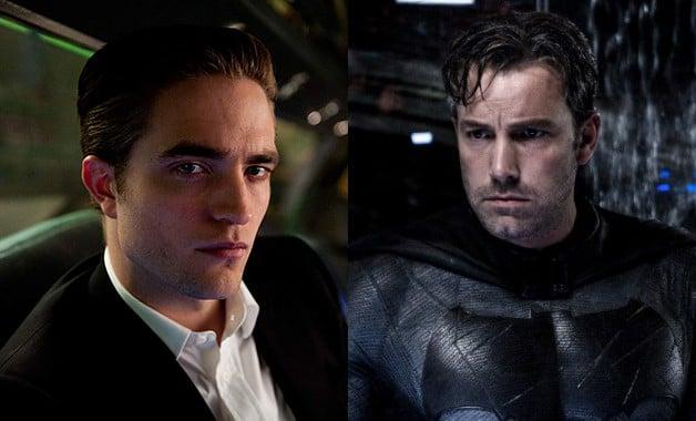 Batman Robert Pattinson Ben Affleck