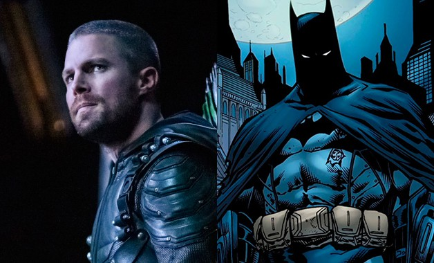 Batman Arrow Stephen Amell Arrowverse