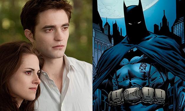 Robert Pattinson Batman Twilight