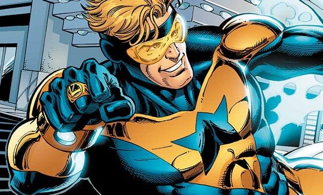 Booster Gold Zack Stentz DC