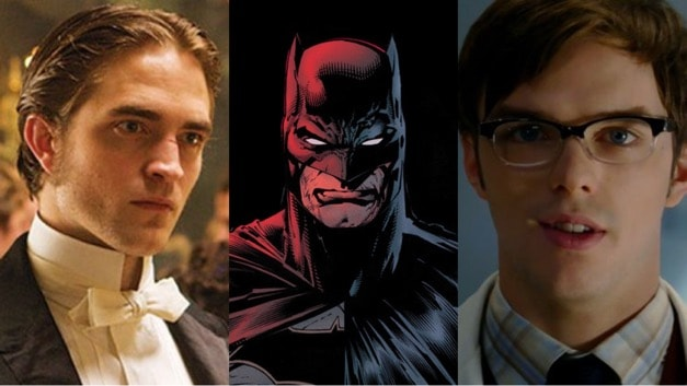 Robert Pattinson Nicholas Hoult Batman Matt Reeves