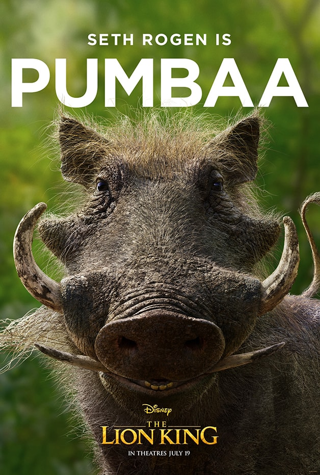 The Lion King Pumbaa Disney