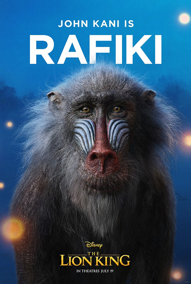 The Lion King Rafiki Disney